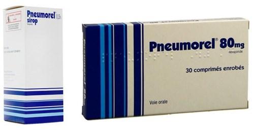 Đình chỉ lưu hành toàn quốc tất cả các lô thuốc Pneumorel