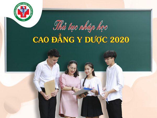 Lịch nhập học đợt 1 năm học 2020